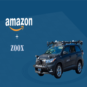Amazon acquires self-driving car startup Zoox