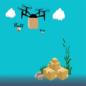 Patent on Drone Delivery Safety Mechanism