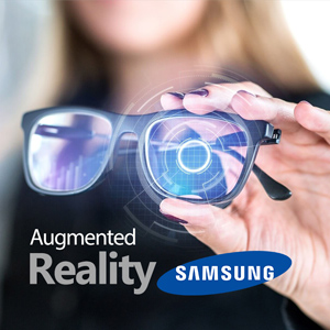 Samsung's new idea for augmented reality glasses